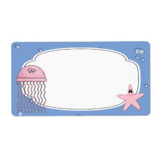 Jellyfish Label