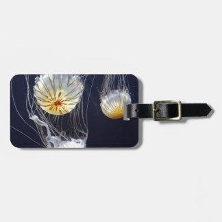 Jellyfish Luggage Tag