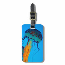 Jellyfish Luggage Tag