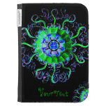 Jellyfish Mandala Pop Art Abstract Add Your Text Kindle Keyboard Covers