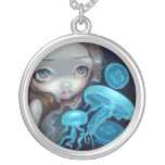 Jellyfish Mermaid NECKLACE Portholes to Fantasy 4