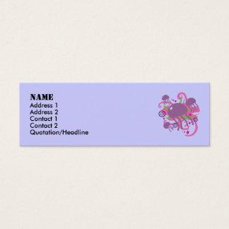 Jellyfish Mini Business Card