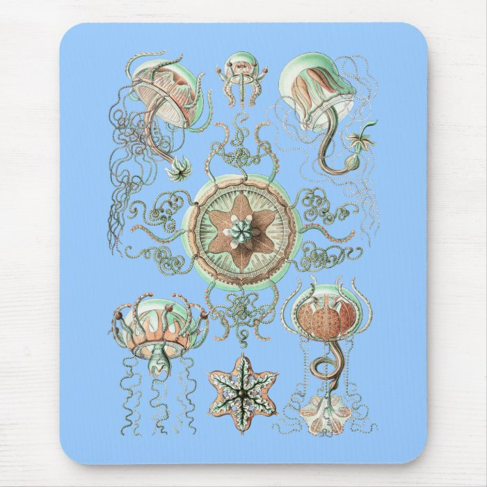 Jellyfish Mouse Pad