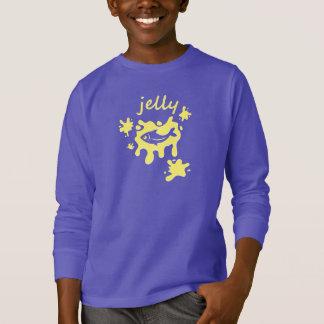 Jellyfish - Neon Yellow - Children's T-Shirt
