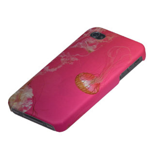Jellyfish Pink iPhone 4 Cases
