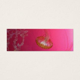 Jellyfish Pink Mini Business Card