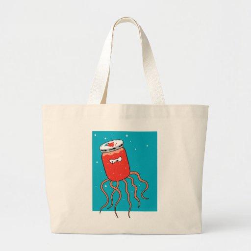 Jellyfish Pun Canvas Bags