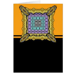 Jellyfish RGB Grid 2 Inverted Greeting Cards