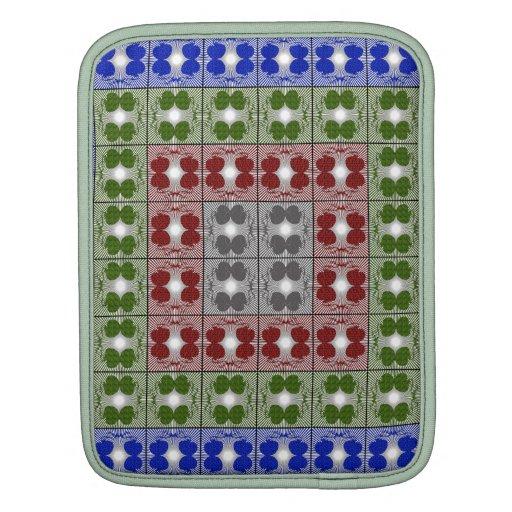 Jellyfish RGB Grid 2 iPad Sleeves