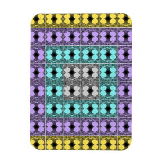 Jellyfish RGB Grid Inverted Rectangular Magnets