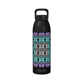 Jellyfish RGB Grid Inverted Water Bottle
