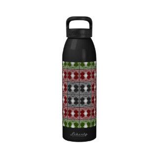Jellyfish RGB Grid Water Bottles