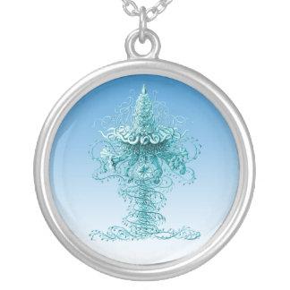 Jellyfish Round Pendant Necklace