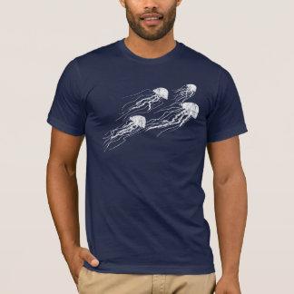 Jellyfish Silhouettes dark tee shirt