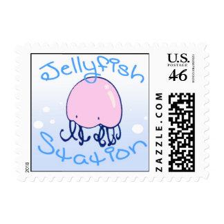 Jellyfish Station Stamp