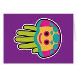 Hand shaped Jellyfish Stings Card