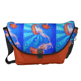 Jellyfish Surprise Courier Bag