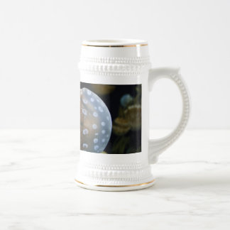 Jellyfish Swimming Right Beer Stein