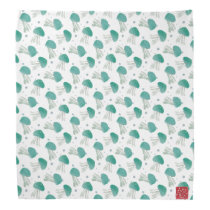 Jellyfish, Turquoise, Sea Life, Whimsical Bandana