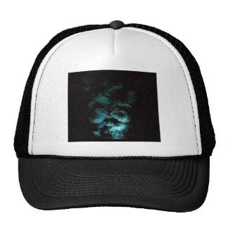 jellyfish under blacklight hat