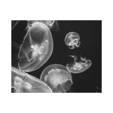 CMcKee_Photography Jellyfish Underwater Canvas Print