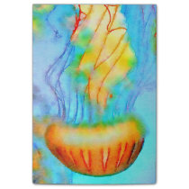 Jellyfish Watercolor Post-it® Notes 4 x 3