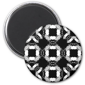 Jellyfish WGB Grid Rotated 2 Inch Round Magnet