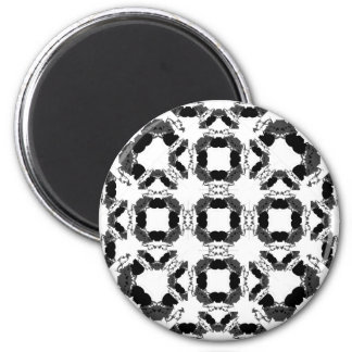 Jellyfish WGB Grid Rotated Alternate Inverted 2 Inch Round Magnet
