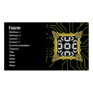 Jellyfish WGB Grid Rotated Business Card