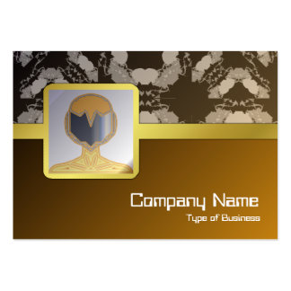 Jellyfish WGB Grid Rotated Large Business Cards (Pack Of 100)