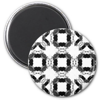 Jellyfish WGB Grid Rotated Inverted 2 Inch Round Magnet