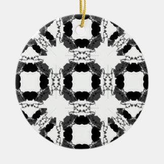 Jellyfish WGB Grid Rotated Inverted Ceramic Ornament