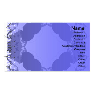 Jellyfish WGB Rotated Inverted Double-Sided Standard Business Cards (Pack Of 100)