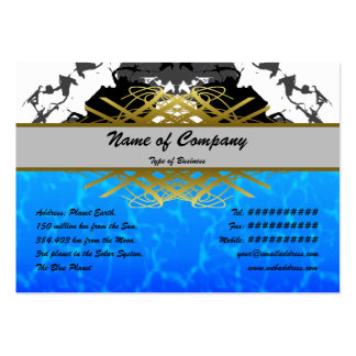 Jellyfish WGB Rotated Inverted Large Business Card