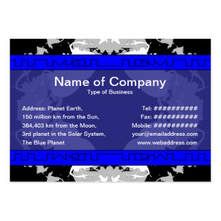 Jellyfish WGB Rotated Large Business Card