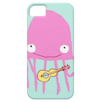 Jellyfish with Ukelele iPhone 5 Case