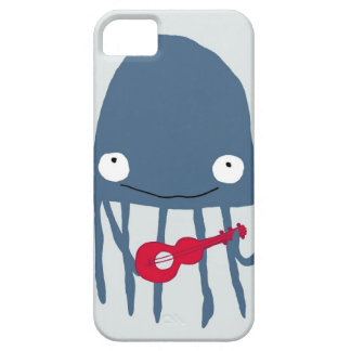 Jellyfish with Ukelele iPhone 5 Cover