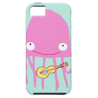 Jellyfish with ukelele iPhone SE/5/5s case