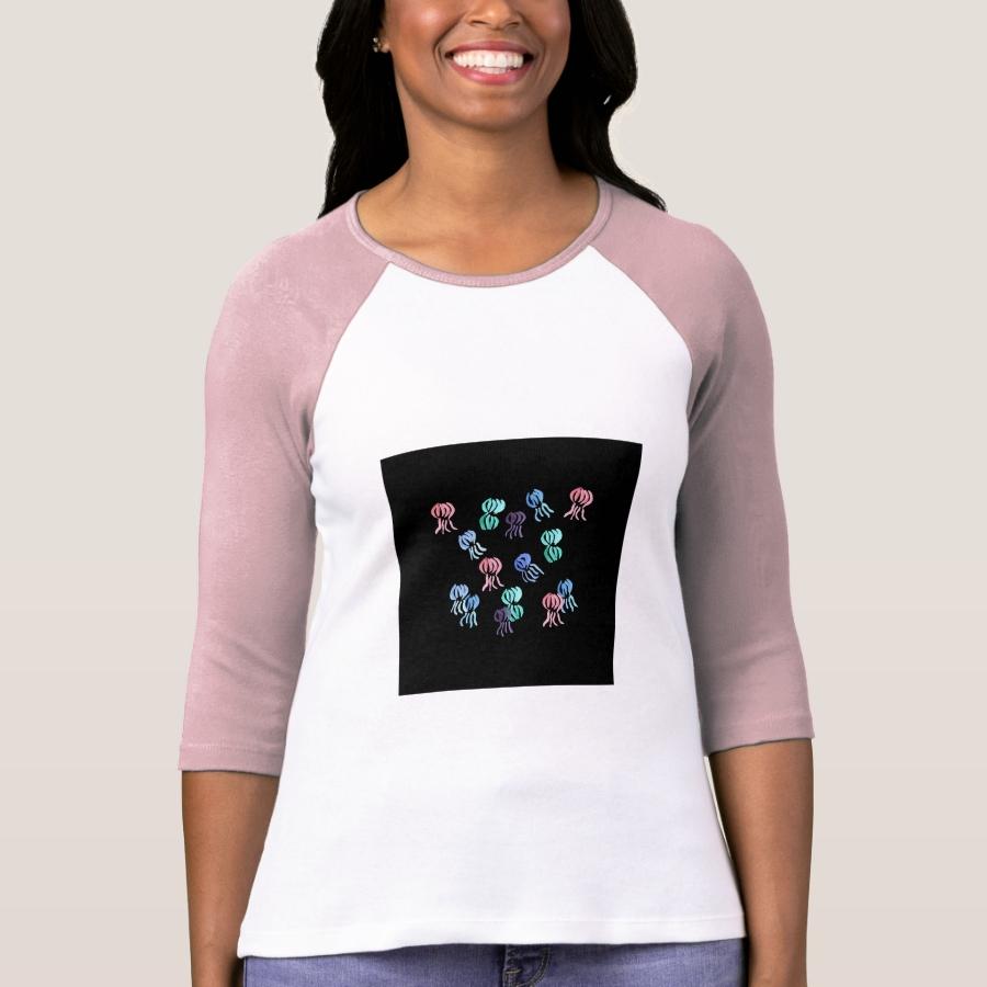 Jellyfish Women's Raglan T-Shirt - Best Selling Long-Sleeve Street Fashion Shirt Designs