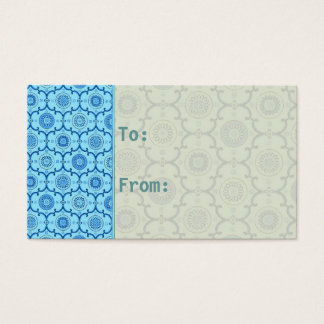 """Jelous ~ Gift Tag Card  / Size 3.5"""" x 2"""""""