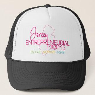 JEM-Logo-Colors-Transparent-Background Trucker Hat
