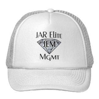 JEM White Logo Hat
