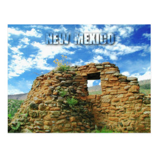 Jemez Pueblo Ruins, Jemez State Monument, NM Postcard