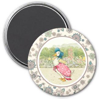 Jemima Duck by Beatrix Potter. Easter Gift Magnet