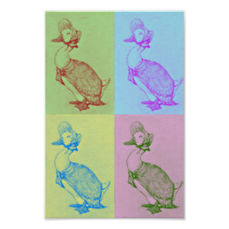 Jemima Puddle-Duck Pop Art Poster