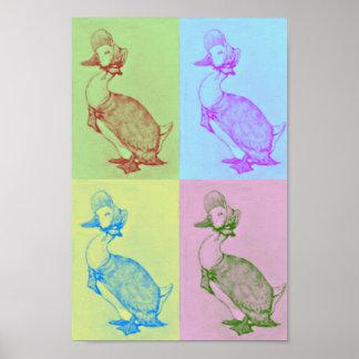 Jemima Puddle-Duck Pop Art Poster