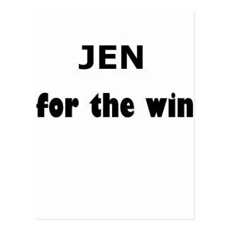 Jen FTW Postcard