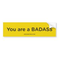 Jen Sincero Badass Bumper Sticker
