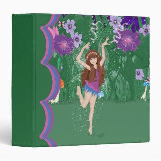 Jen the Dancing Flower Fairy 1.5 inch Binder