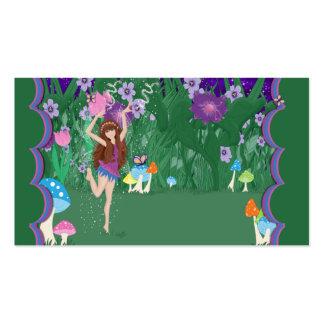 Jen the Dancing Flower Fairy Business Card